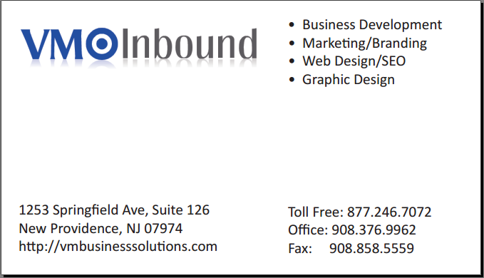 VM Inbound Business Card